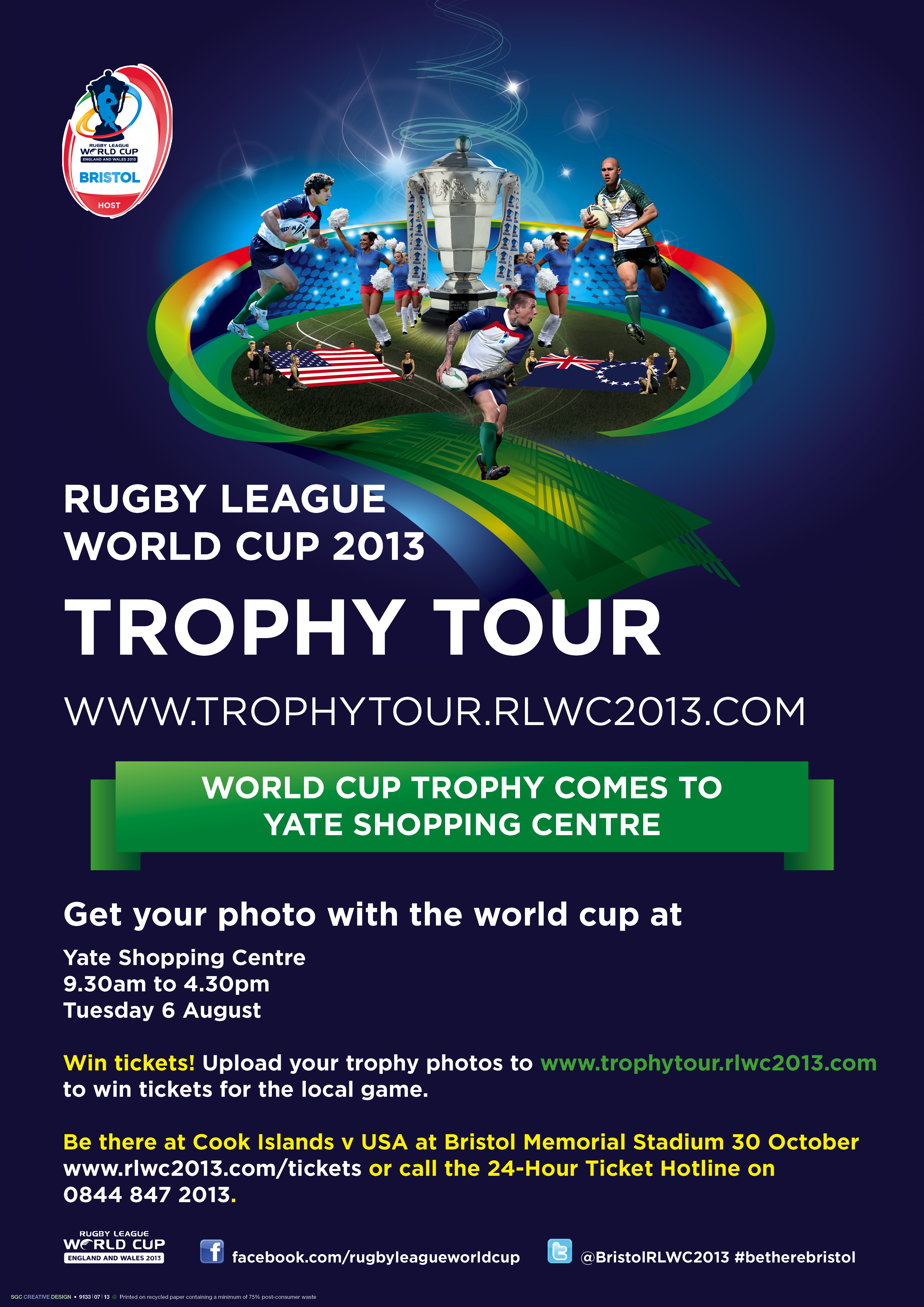 Rugby League World Cup 2013 Trophy Tour